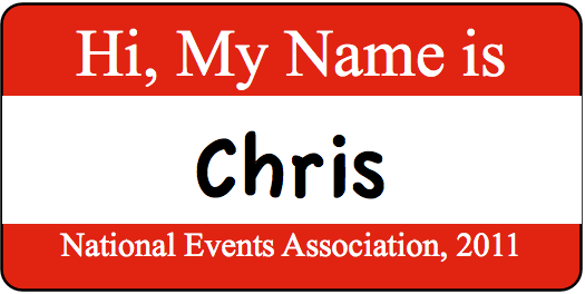 We do name badges.